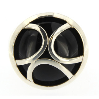 Ring 925/- Sterlingsilber Onyx