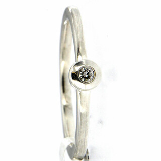 Ring 925/- Sterlingsilber 1 Brillant 0,05ct TP1