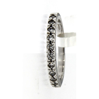 Ring 925/- Sterlingsilber 11 Zirkonia Gr. 54