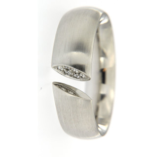 Ring Platin 950/- 6 Brillanten 0,06ct TVS