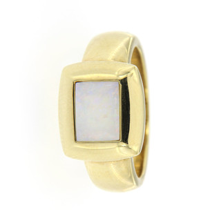 Ring 585/- Gelbgold 1 Opal