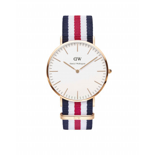 Classic Collection, Canterbury, Rose vergoldet, 40mm