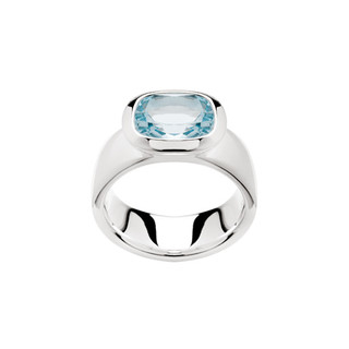 Ring 925/- Sterlingsilber Blautopas