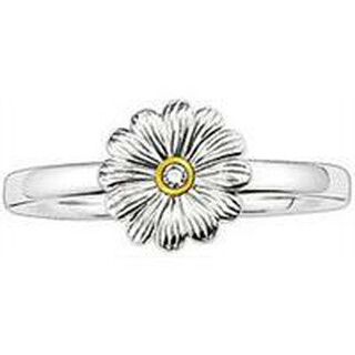 Thomas Sabo Sweet Diamonds Ring Blume Gr.52