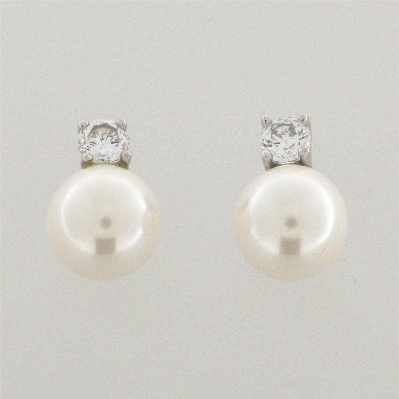 ohrstecker 925 rh perle weiss 8mm zk weiss 14 00. Black Bedroom Furniture Sets. Home Design Ideas