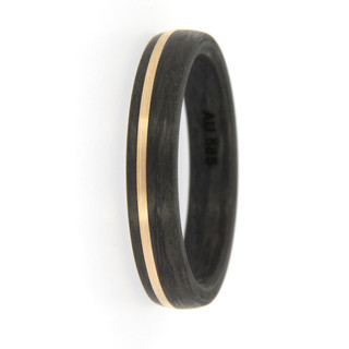 Ring Carbon Rosegold 4,5mm