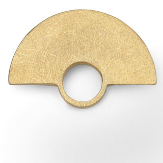 Circle, 27mm goldplattiert