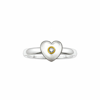 Thomas Sabo Sweet Diamonds Ring Herz